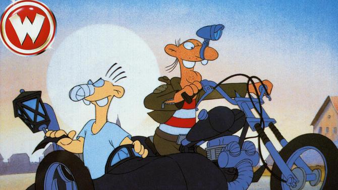 Zeichentrick Komodie Deutschland 1990 Nitro Nitro